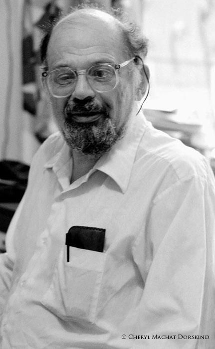 patron artist, Allen Ginsberg, portraits